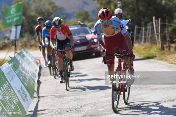 Ruben Guerreiro of Portugal and Team Katusha-Alpecin / Puerto del Acebo - Santuario del Acebo / during the 74th Tour of Spain 2019, Stage 15 a...