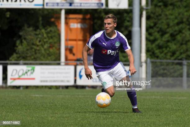 Ruben Jenssen of FC Groningen during the Club Friendly match between vv 't Fean '58 v FC Groningen at the Sportpark It Ketting on July 7 2018 in...