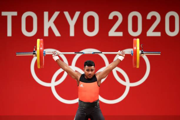 JPN: Weightlifting - Olympics: Day 2