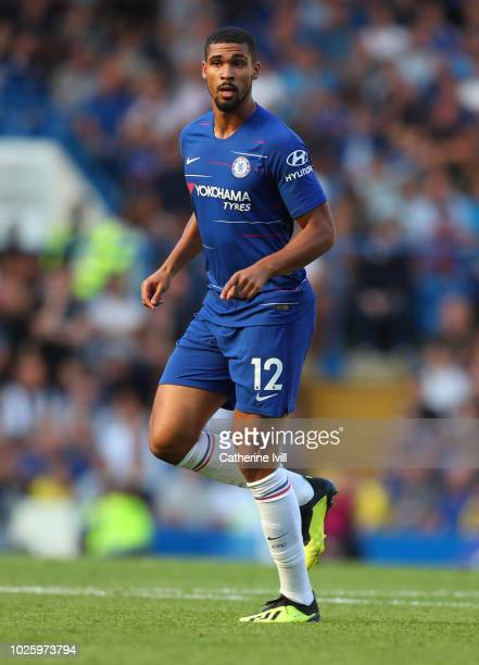 Ruben LoftusCheek of Chelsea during the Premier League match between Chelsea FC and AFC Bournemouth at Stamford Bridge on September 1 2018 in London...