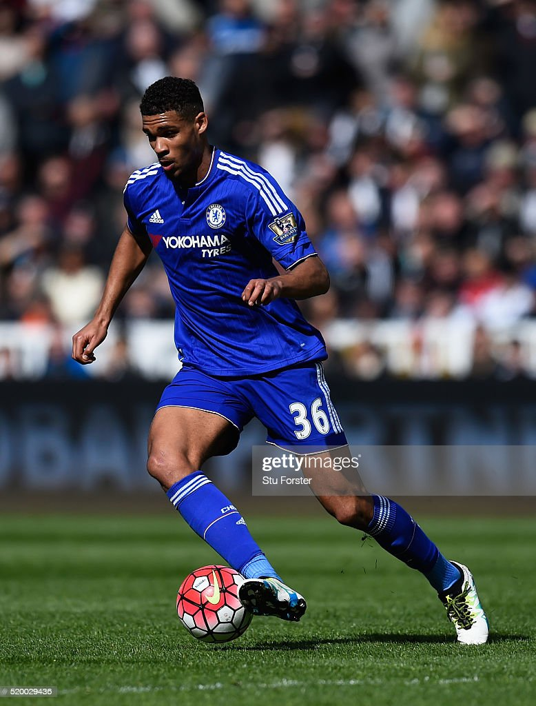 Ruben Loftus-Cheek of Chelsea in action during the Barclays Premier League match between Swansea City and Chelsea at Liberty Stadium on April 9, 2016 in Swansea, Wales.