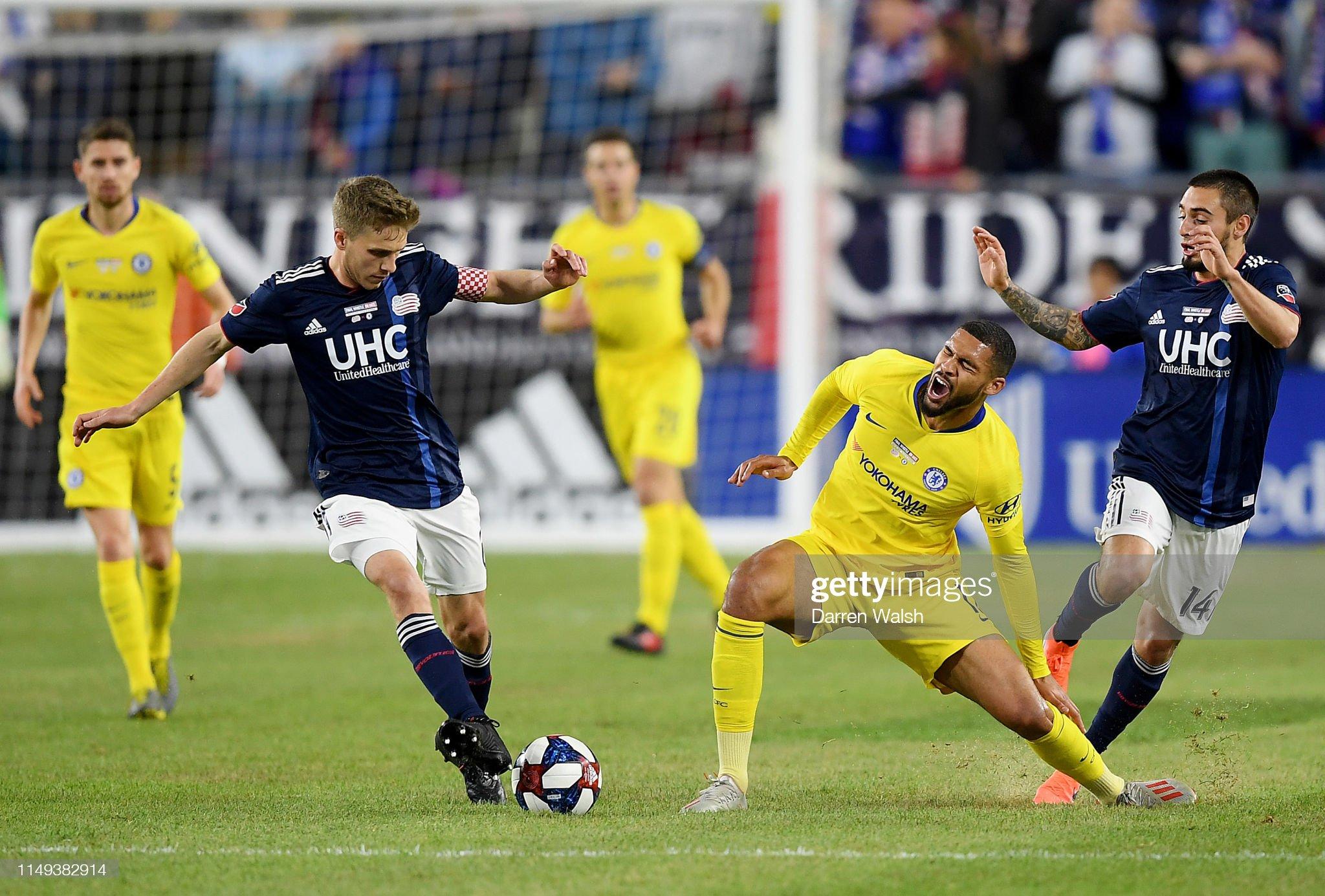 New England Revolution v Chelsea - Friendly Match : News Photo