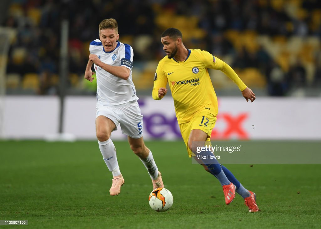 Dynamo Kyiv v Chelsea - UEFA Europa League Round of 16: Second Leg : News Photo