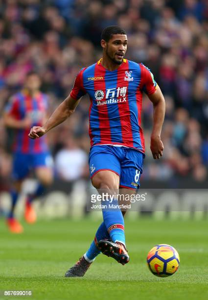 Ruben LoftusCheek of Crystal Palace in action during the Premier League match between Crystal Palace and West Ham United at Selhurst Park on October...