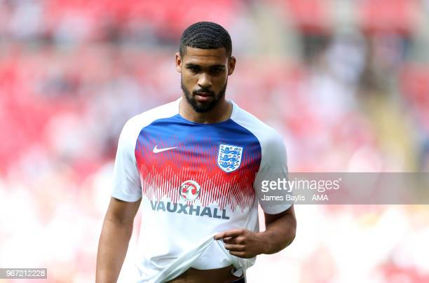 Ruben LoftusCheek of England before the International Friendly between England and Nigeria at Wembley Stadium on June 2 2018 in London England
