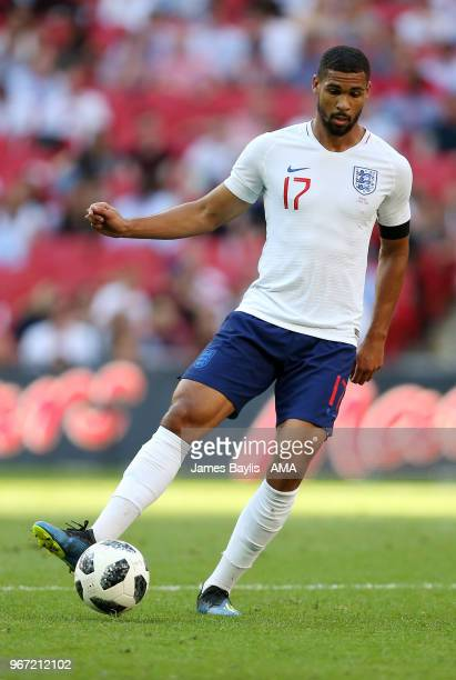 Ruben LoftusCheek of England during the International Friendly between England and Nigeria at Wembley Stadium on June 2 2018 in London England