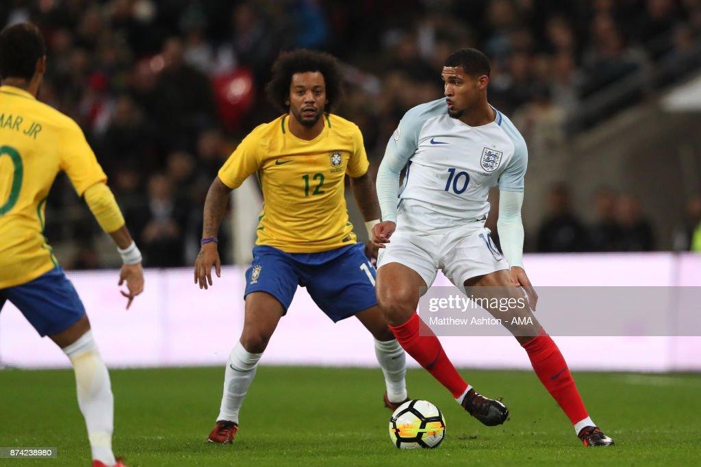England v Brazil - International Friendly : News Photo