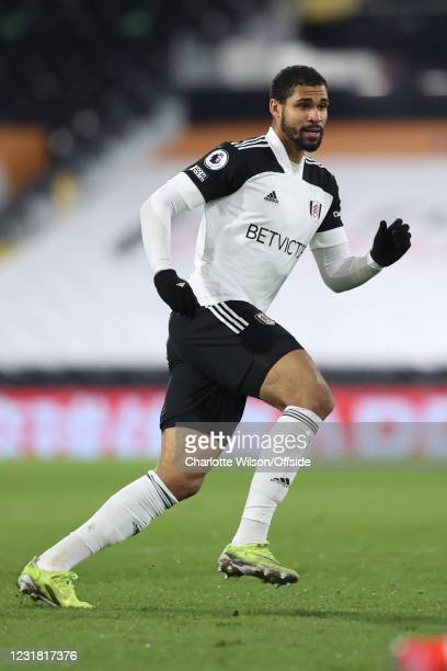 Ruben Loftus-Cheek of Fulham during the Premier League match between Fulham and Leeds United at Craven Cottage on March 19, 2021 in London, United...