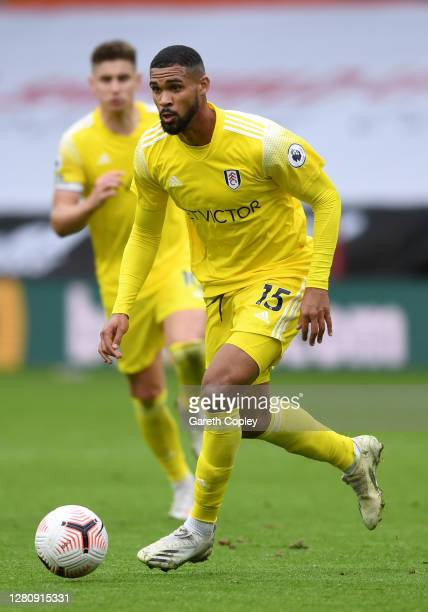 Ruben LoftusCheek of Fulham during the Premier League match between Sheffield United and Fulham at Bramall Lane on October 18 2020 in Sheffield...