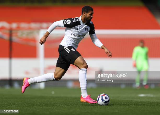 Ruben Loftus-Cheek of Fulham in action during the Premier League match between Arsenal and Fulham at Emirates Stadium on April 18, 2021 in London,...