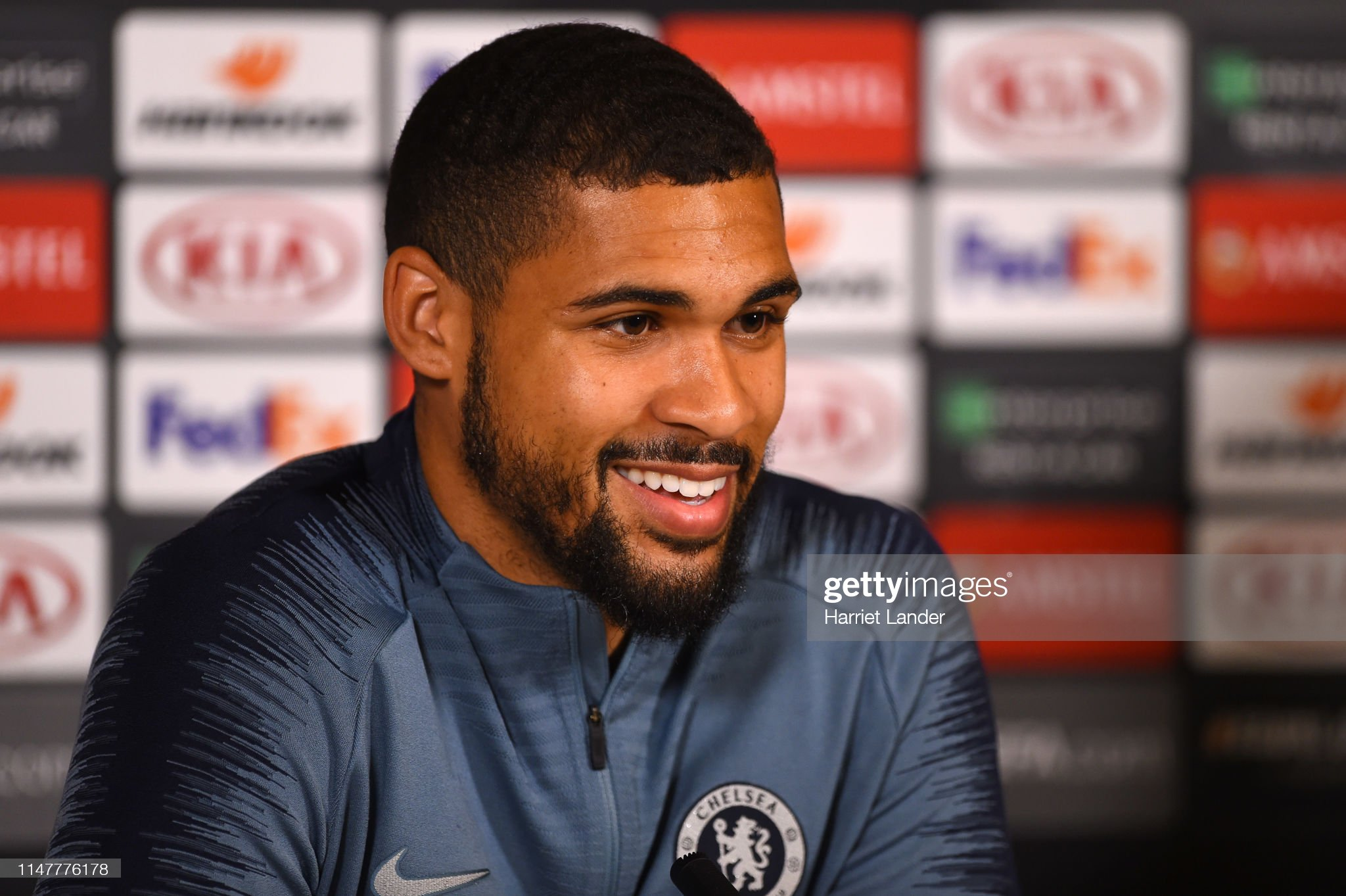 Chelsea Training Session and Press Conference : News Photo