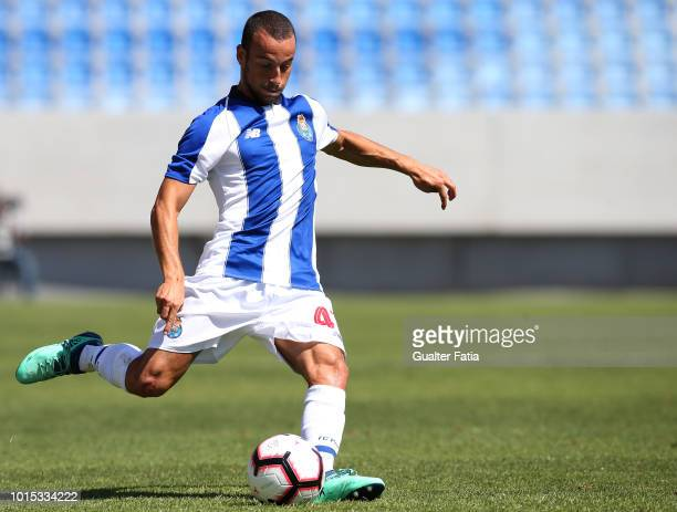 Ruben Macedo of FC Porto B in action during the Portuguese Segunda Liga match between GD Estoril Praia and FC Porto B at Estadio Antonio Coimbra da...