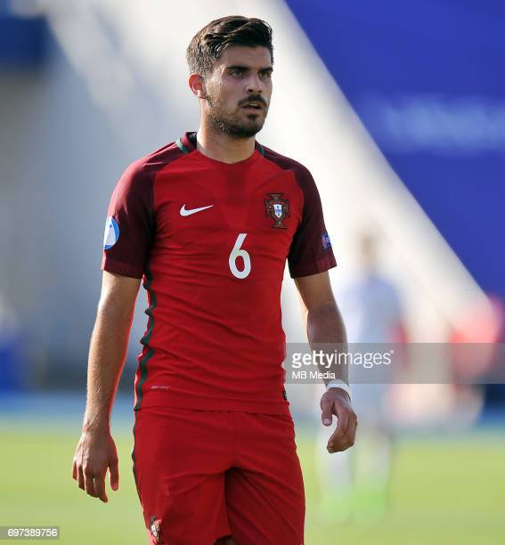 Ruben Neves during the UEFA European Under21 match between Portugal and Serbia at Arena Bydgoszcz on June 17 2017 in Bydgoszcz Poland
