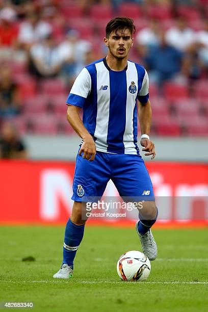 Ruben neves of Porto runs with the ball during the Colonia Cup 2015 match between FC Valencia and FC Porto at RheinEnergieStadion on August 1 2015 in...