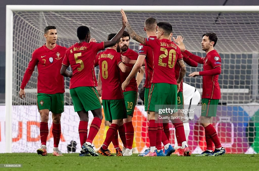 Portugal v Azerbaijan - FIFA World Cup 2022 Qatar Qualifier : Photo d'actualité