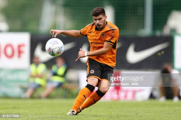 Ruben Neves of Wolverhampton Wanderers during the preseason friendly between Werder Bremen and Wolverhampton Wanderers at Parkstadion Zell Am Ziller...