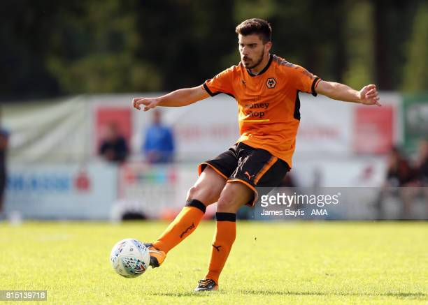 Ruben Neves of Wolverhampton Wanderers during the preseason friendly between FC Viktoria Plzen and Wolverhampton Wanderers on July 15 2017 in...