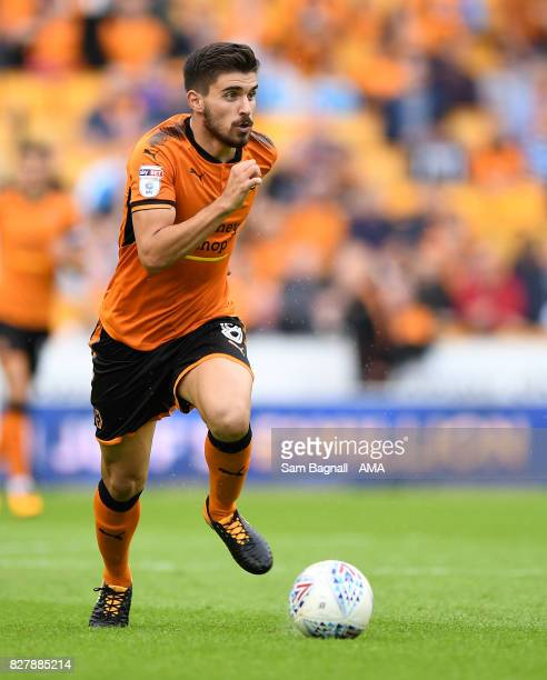 Ruben Neves of Wolverhampton Wanderers during the Sky Bet Championship match between Wolverhampton and Middlesbrough at Molineux on August 5 2017 in...