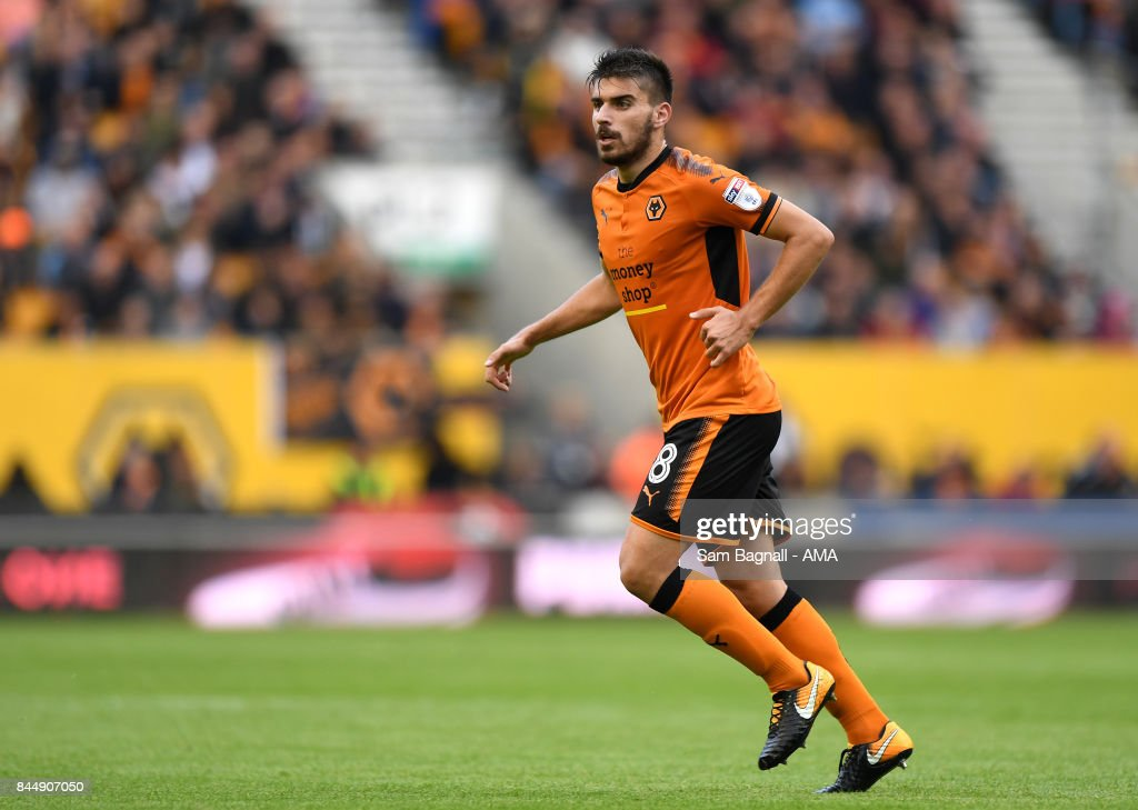 Ruben Neves of Wolverhampton Wanderers during the Sky Bet Championship match between Wolverhampton and Millwall at Molineux on September 9, 2017 in Wolverhampton, England.