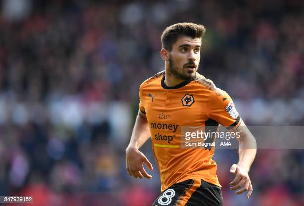 Ruben Neves of Wolverhampton Wanderers during the Sky Bet Championship match between Nottingham Forest and Wolverhampton at City Ground on September...