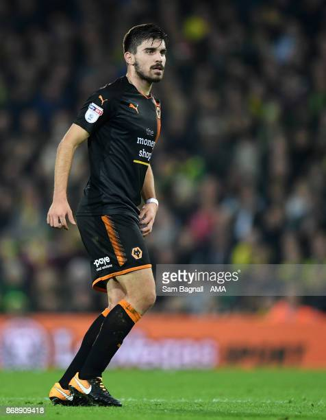 Ruben Neves of Wolverhampton Wanderers during the Sky Bet Championship match between Norwich City and Wolverhampton at Carrow Road on October 31 2017...