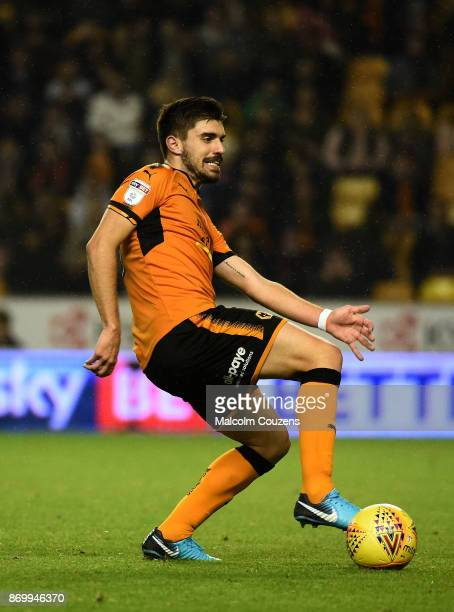 Ruben Neves of Wolverhampton Wanderers during the Sky Bet Championship match between Wolverhampton Wanderers and Fulham at Molineux on November 3...