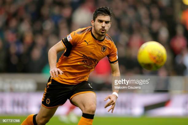 Ruben Neves of Wolverhampton Wanderers during the Sky Bet Championship match between Wolverhampton and Nottingham Forest at Molineux on January 20...