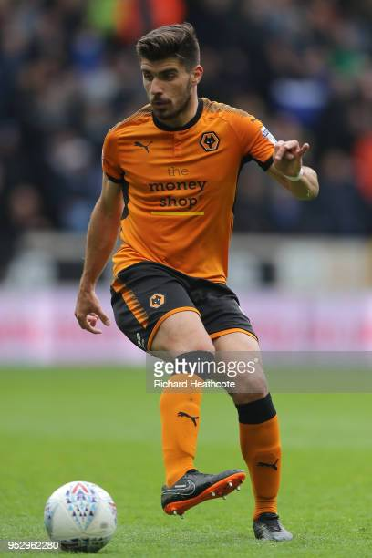 Ruben Neves of Wolverhampton Wanderers in action during the Sky Bet Championship match between Wolverhampton Wanderers and Sheffield Wednesday at...