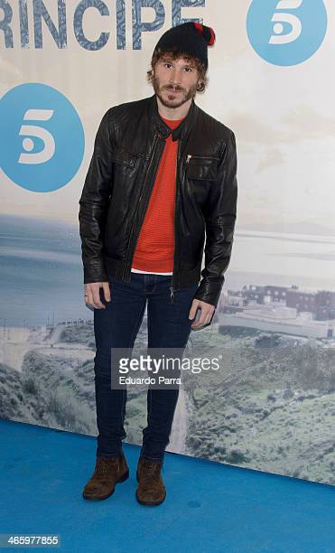 Ruben Ochandiano attends 'El principe' premiere at Callao cinema on January 30 2014 in Madrid Spain