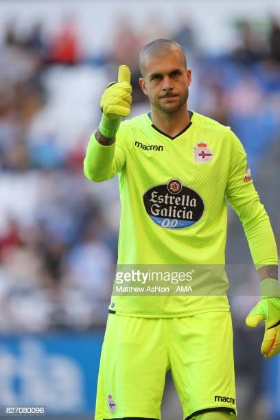 Ruben of Deportivo de La Coruna during the PreSeason Friendly between Deportivo de La Coruna and West Bromwich Albion on August 5 2017 in La Coruna...