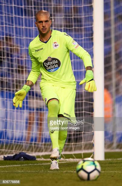 Ruben of Deportivo de La Coruna in action during the Pre Season Friendly match between Deportivo de La Corua and West Bromwich Albion at Riazor...