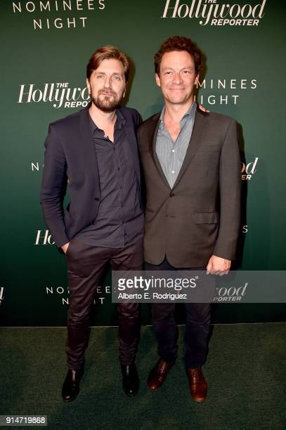 Ruben Ostlund and Dominic West attend The Hollywood Reporter 6th Annual Nominees Night at CUT on February 5 2018 in Beverly Hills California