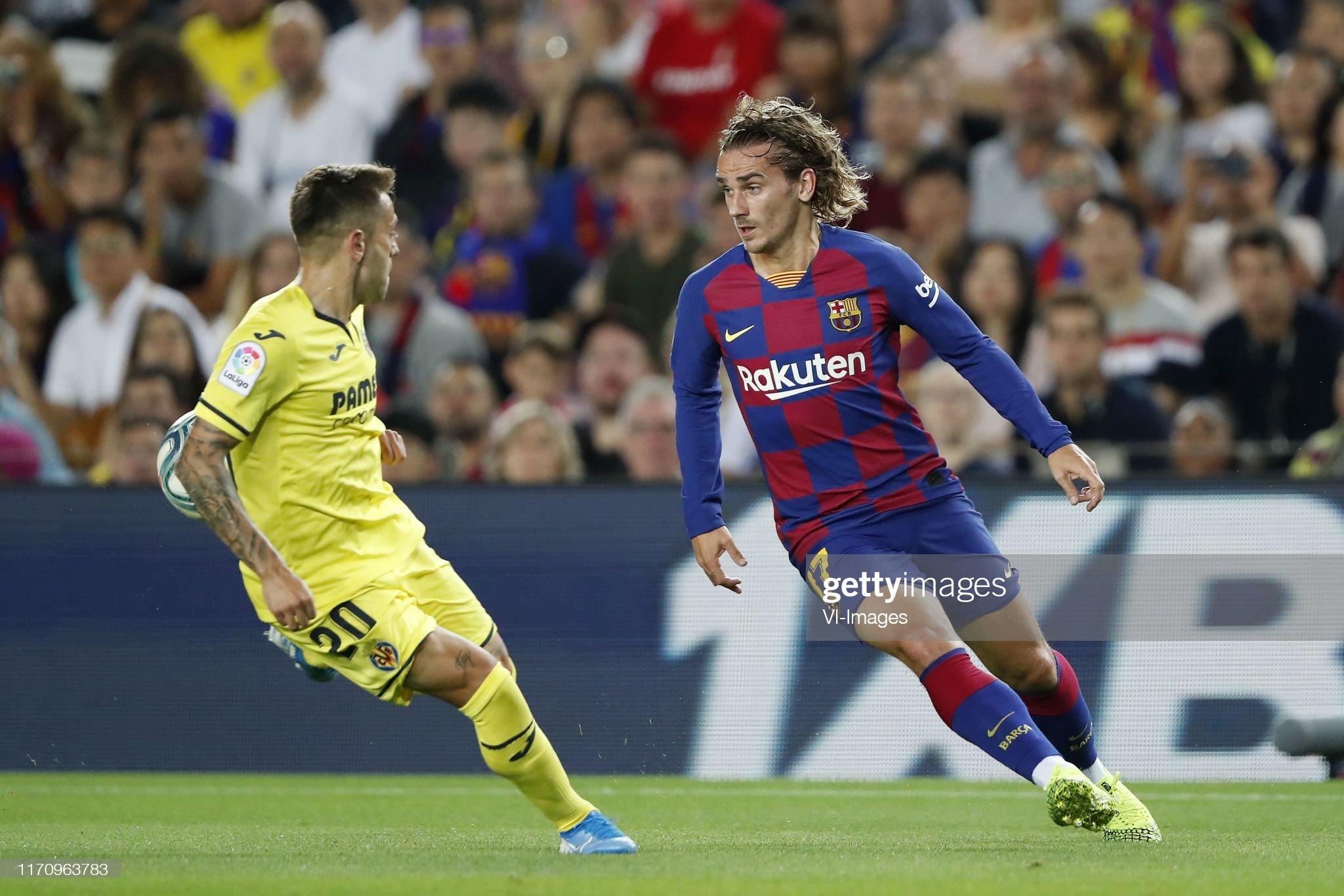 صور مباراة : برشلونة - فياريال 2-1 ( 24-09-2019 )  Ruben-pena-of-villarreal-cf-antoine-griezmann-of-fc-barcelona-during-picture-id1170963783?s=2048x2048