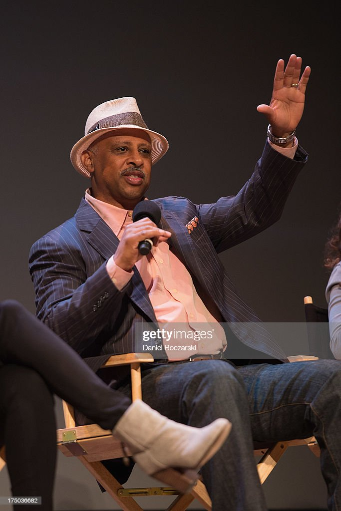 Ruben Santiago-Hudson attends AMC's 'Low Winter Sun' cast Q&A with Art House Convergence on July 29, 2013 in Ann Arbor, Michigan.