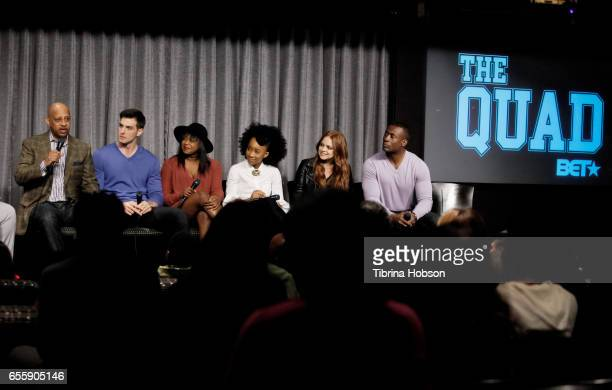Ruben SantiagoHudson Jake Allyn Jazz Raycole Zoe Renee Michelle DeFraites and Sean Blakemore attend SAGAFTRA Foundation's Conversations with 'The...