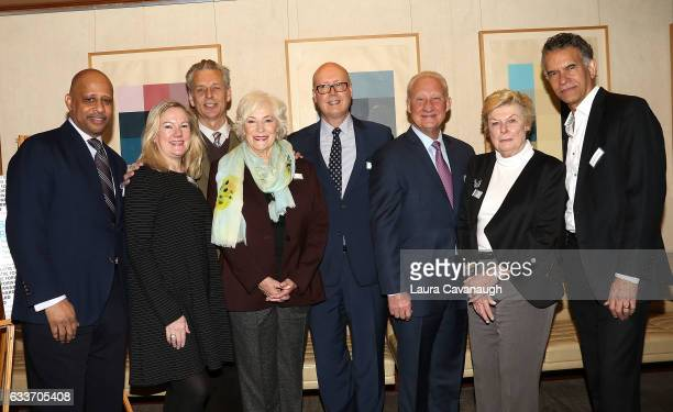 Ruben SantiagoHudson Kathleen Marshall Michael Ritchie Betty Buckley Bruce Whitacre Gregory S Hurst Nelle Nugent and Brian Stokes Mitchell attend...