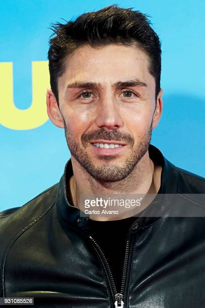 Ruben Sanz attends 'La Tribu' premiere at the Capitol cinema on March 12 2018 in Madrid Spain
