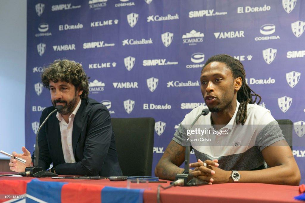 Ruben Semedo Is Presented As New Player of Huesca Football Team
