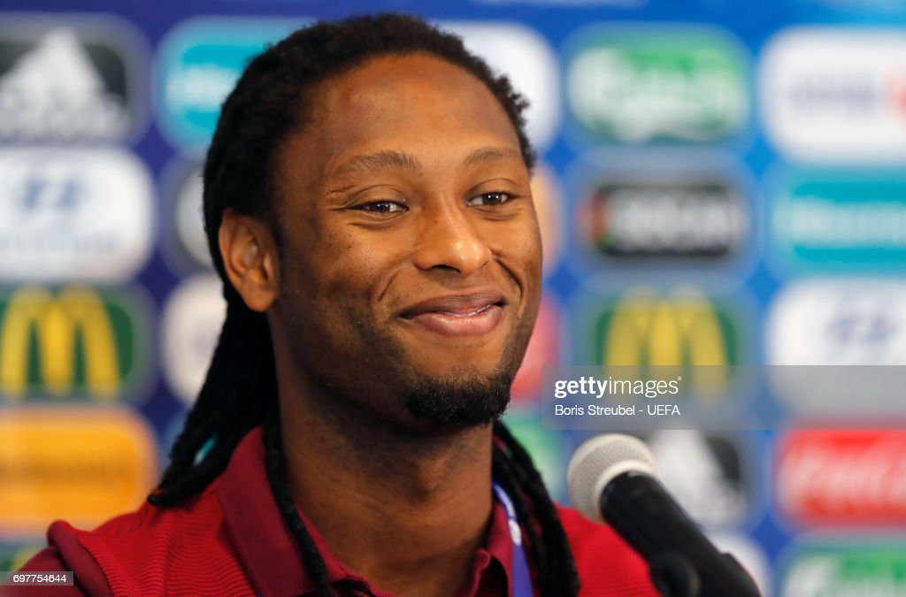 Ruben Semedo of Portugal attends the MD-1 Press conference at Gdynia Sports Arena on June 19, 2017 in Gdynia, Poland.