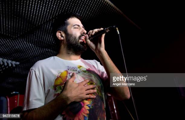 Ruben Sierra from La Pegatina attends ´Ahora O Nunca´ new album presentation on April 5 2018 in Madrid Spain