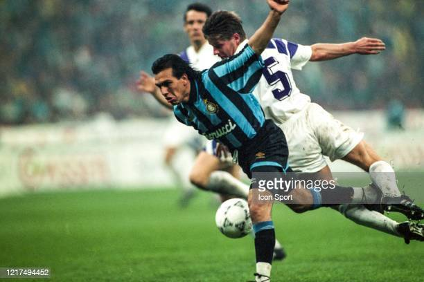 Ruben SOSA of Inter during the UEFA Cup Final second leg match between Internazionale and Austria Salzburg at Stadio Giuseppe Meazza Milan Italy on...