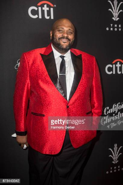 Ruben Studdard attends the California Christmas at The Grove on November 12 2017 in Los Angeles California