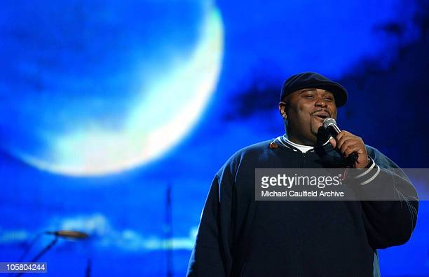 Ruben Studdard during 31st Annual American Music Awards Day One Rehearsals at Shrine Auditorium in Los Angeles California United States
