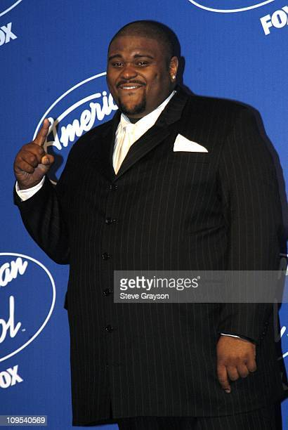 Ruben Studdard during 'American Idol' Season 2 Finale Press Room at Universal Amphitheater in Universal City California United States