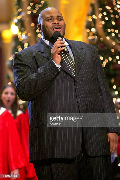 Ruben Studdard during TNT's Christmas in Washington 2004 Dress Rehearsals and Backstage at National Building Museum in Washington DC DC United States