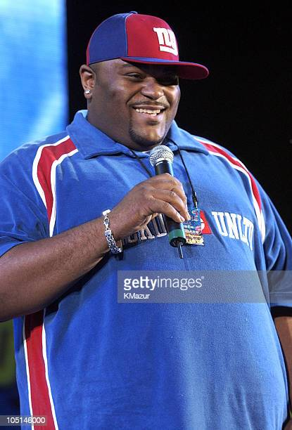 Ruben Studdard during Z100's Zootopia 2003 Show at Giants Stadium in East Rutherford New Jersey United States