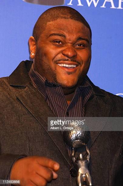 Ruben Studdard winner of the 2004 NAACP Image award for Outstanding New Artist