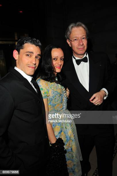 Ruben Toledo Isabel Toledo and Julian Zugazagoitia attend El MUSEO Gala at Cipriani 42nd St on May 20 2009 in New York City