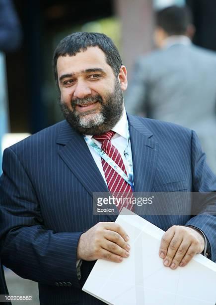 Ruben Vardanyan, of Troika-Dialog and Skolkovo, attends the St. Petersburg International Economic Forum on June 18 in St. Petersburg, Russia. The...