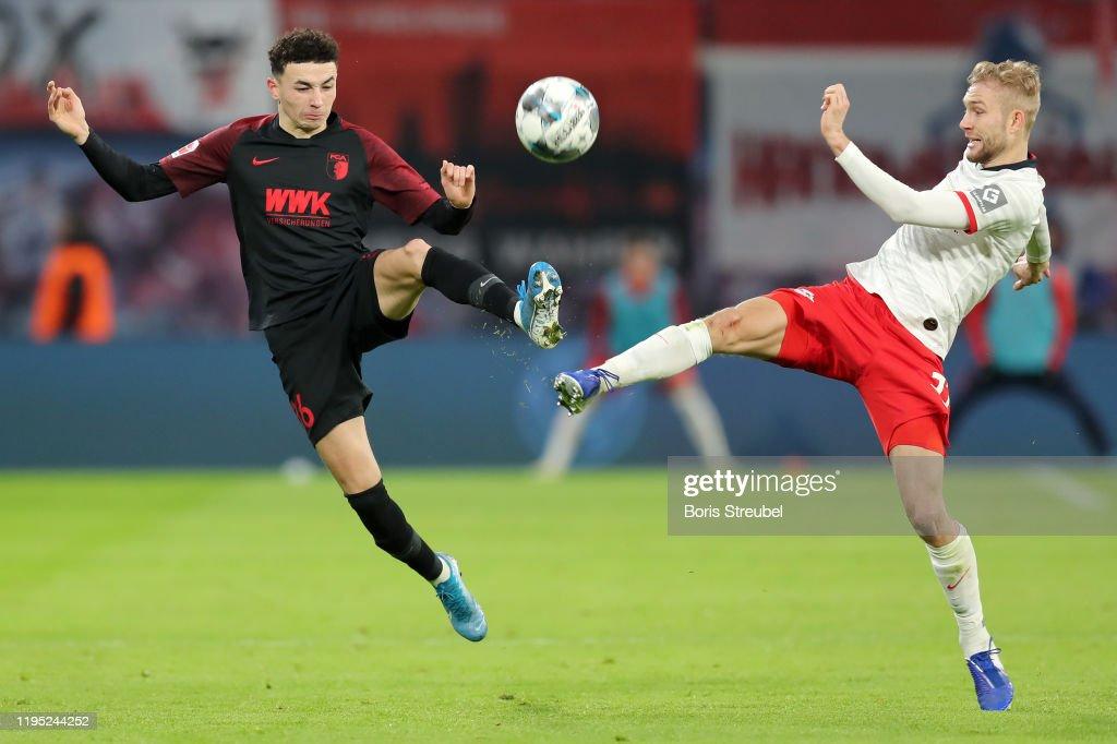 RB Leipzig v FC Augsburg - Bundesliga : ニュース写真